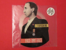 """Pete Townsend (The Who) Picture Disc shaped record   7 """"  Face to Face"""