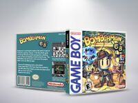Bomberman - GB - Replacement - Cover / Case (NO Game)