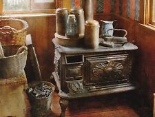 "*Postcard-""The Old Stove...Baskets & Appliances/ (#36)"