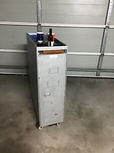 Qantas full size catering trolley - cart