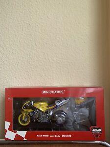 1:12 Minichamps Ducati 998 RS Juan Borja WSB 2003