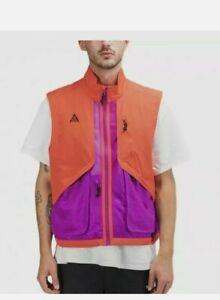 Nike ACG Vest Gilet BQ3619-634 Habanero Red/Purple Size M
