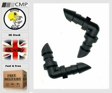4mm Aquarium Tank Hose Coupling Irrigation air joint connector windscreen x25 UK