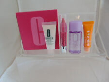 Clinique pep eye cream 7ml chubby lip color, 30ml makeup remover, 15ml cleanser