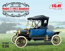 Ford Modelo T 1913 Roadster #24001 1/24 ICM