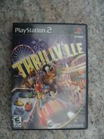 Thrillville Sony PlayStation 2 PS2 Video Game Tested - No Manual