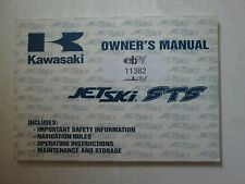 1996 Kawasaki Jet Ski STS Owner's Manual KAWASAKI JT750-B2 99920-1749-01 NEW