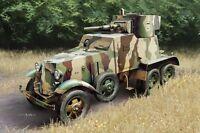 1:3 5 Maßstab Hobbyboss Modell Set HBB83839 Sowjet BA-6 Rüstung Auto