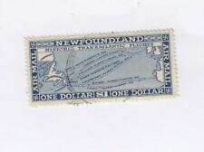 NEWFOUNDLAND # C8 VF-VERY LIGHT USED  HISTORIC TRANSATLANTIC FLIGHTS-CV $80+