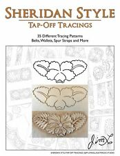 Sheridan Style Tap-Off Tracings - 35 Different Leather Patterns by Jim Linnell