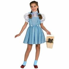 THE WIZARD OF OZ DOROTHY CHILD HALLOWEEN COSTUME GIRLS SIZE SMALL 4-6