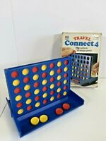 Vintage 1982 Travel Connect 4 Vertical Strategy Game By MB Games
