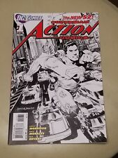 DC Comics New 52 Superman Action Comics #1 Sketch Variant