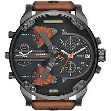 Diesel Brown Black Quartz Analog Men's Watch DZ7332