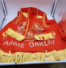 Annie Oakley Hand-Made Skirt & Vest