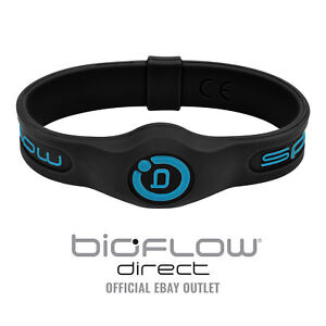 Bioflow Sport Magnetic Therapy Wristband Black/Blue - From Bioflow Direct