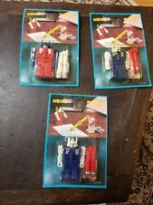Lot of 3 Vintage Memo Robot Transformers New in Packaging 1980's - NR