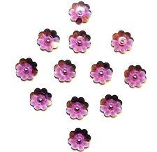 SCM213f Amethyst Purple 8mm Marguerite Flat Flower Swarovski Crystal Beads 12pc