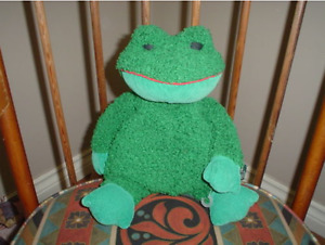 Russ Berrie Paddy Frog  Plush Toy  3128 Large 12 inch