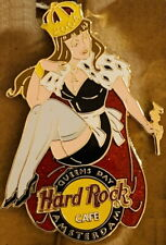 "Harte Rock Cafe Amsterdam 2004 Queensday Queens Tag "" Ana "" Mädchen Mit Zepter"
