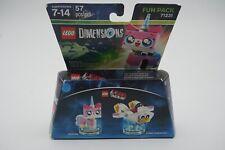 Lego Dimensions - The Lego Movie Unikitty + Cuckoo Car Fun Pack 71231 New Sealed