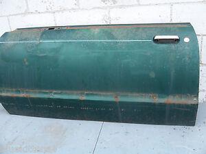 1977 THUNDERBIRD LEFT DOOR SHELL USED GREEN OEM FORD 1978 1979