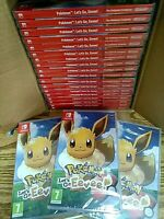 Pokémon: Let's Go, Eevee! (Nintendo Switch, 2018) Brand New Factory Sealed