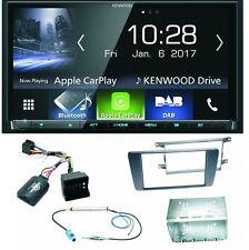 Komplett Set Skoda Octavia 2 Yeti 5L Kenwood DMX-7017DABS Bluetooth Autoradio