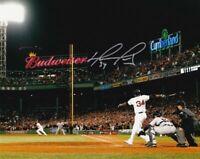 David Ortiz Autograph Signed 8x10 Photo ( Red Sox ) REPRINT