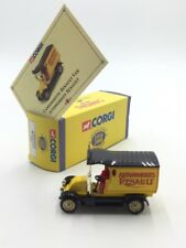 renault van 1/43 corgi camions d'antan n14/50 boite certificat proche du neuf