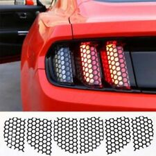 Rear Tail Light Lamp Honeycomb Stickers For Ford Mustang Exterior Accessories 6x
