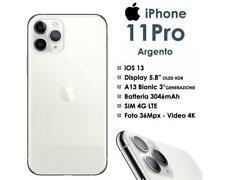 Apple iPhone 11 PRO 256GB Silver Bianco Ex Demo come Nuovo