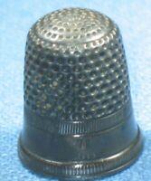 Vintage COIN Silver #7 Thimble