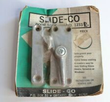 Slide-Co Security Lock for Sliding Glass Doors Screens Windows 1233 R Right Hand