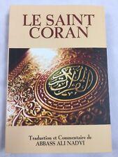 Le Saint Coran Quran In French Language