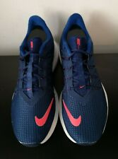 Mens Nike Quest Blue Running Trainers VGC - UK 7