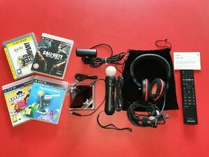 Job Lot Sony PS3 Accessories Move Motion Controller,Headset,BD Remote Control