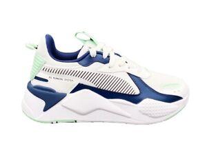 PUMA Rs-X Joy Jr Baskets Blanc Bleu Vert Eau 372864-01