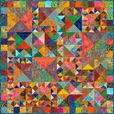 """Uluwatu - 55"""" - Pre-cut Quilt Kit by Quilt-Addicts Lap size."""