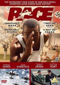 Race (DVD) THE JESSE OWENS movie - William Hurt, Jeremy Irons UK STOCK NEW Film