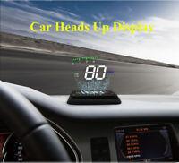 Heads Up Display  Warning Meter Car HUD Digital Speed  3.5 Inch HD OBD 2