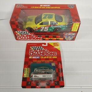 (2)Racing Champions 1:24 & 1:64 #75 Remington  Rick Mast