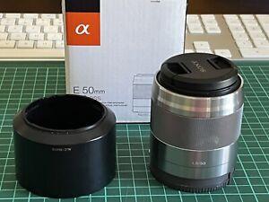 Sony 50mm f1.8 OSS e-mount lens