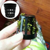 10/30Pcs Aquarium Plant Pots - Potting kit - Planting Rropical Fish Tank Potted
