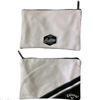 Callaway Golf Zipped Valuables Pouch Bag New