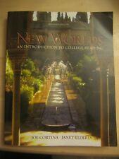 New Worlds : An Introduction to College Reading by Janet Elder and Joe Cortina (