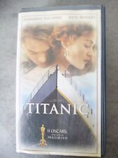 Cassettes VHS: Titanic