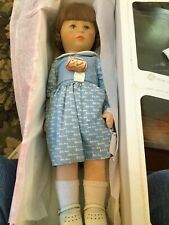 "Doll 19"" Kathe  Kruse MIB Kruse Dress Material RARE"