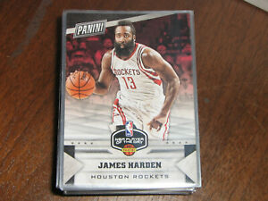 2017 Panini Player of the Day James Harden