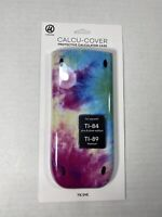 Texas Instruments Calculator TI-84 Plus & Silver TI-89 Slide Case Cover Tie Dye
